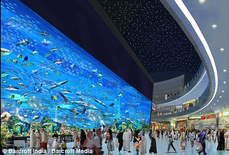 The stunning new Dubai Mall Aquarium which will be unveiled to the public on October 30th - if the sharks stop killing each other! The stunning new Dubai Mall Aquarium which will be unveiled to the public on October 30th - if the sharks stop killing each other!