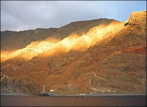 Sunrise Over Guadalupe Island