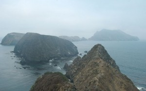 Middle and West Islets of Anacapa Island.