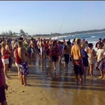 Ponta da Ouro Beach, Post-Shark Attack Chaos